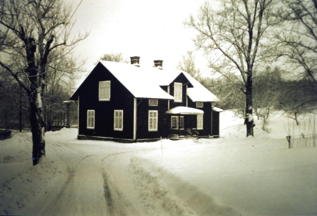 Maskinistbostaden byggd 1905, foto K-G Hjulström