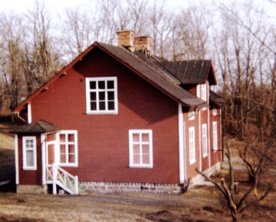 Maskinistbostaden, foto K-G Hjulström