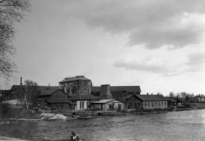 Västanfors hytta 1915