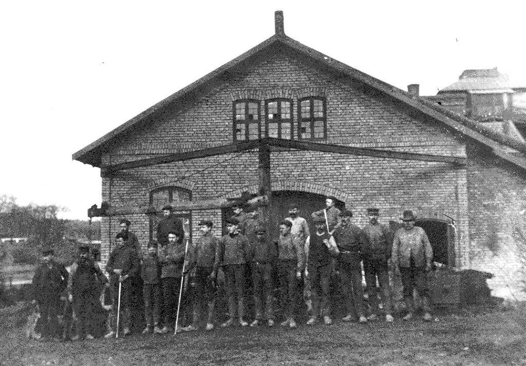 Hyttarbetare, ca 1910