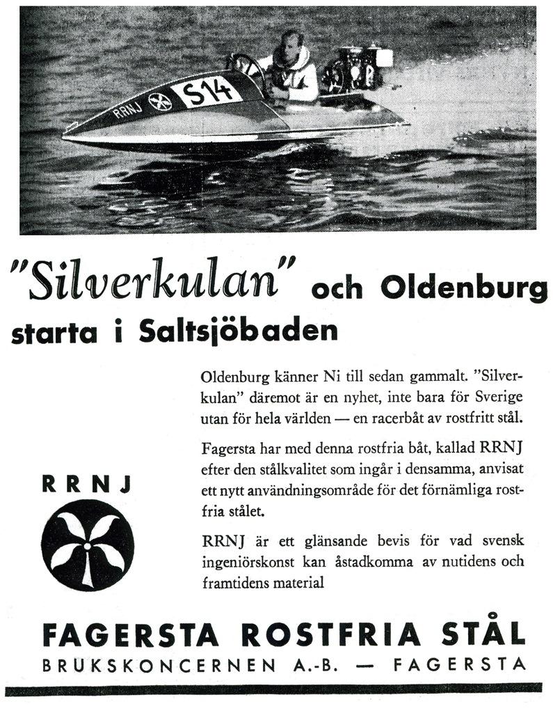 Reklam Fagersta Bruk