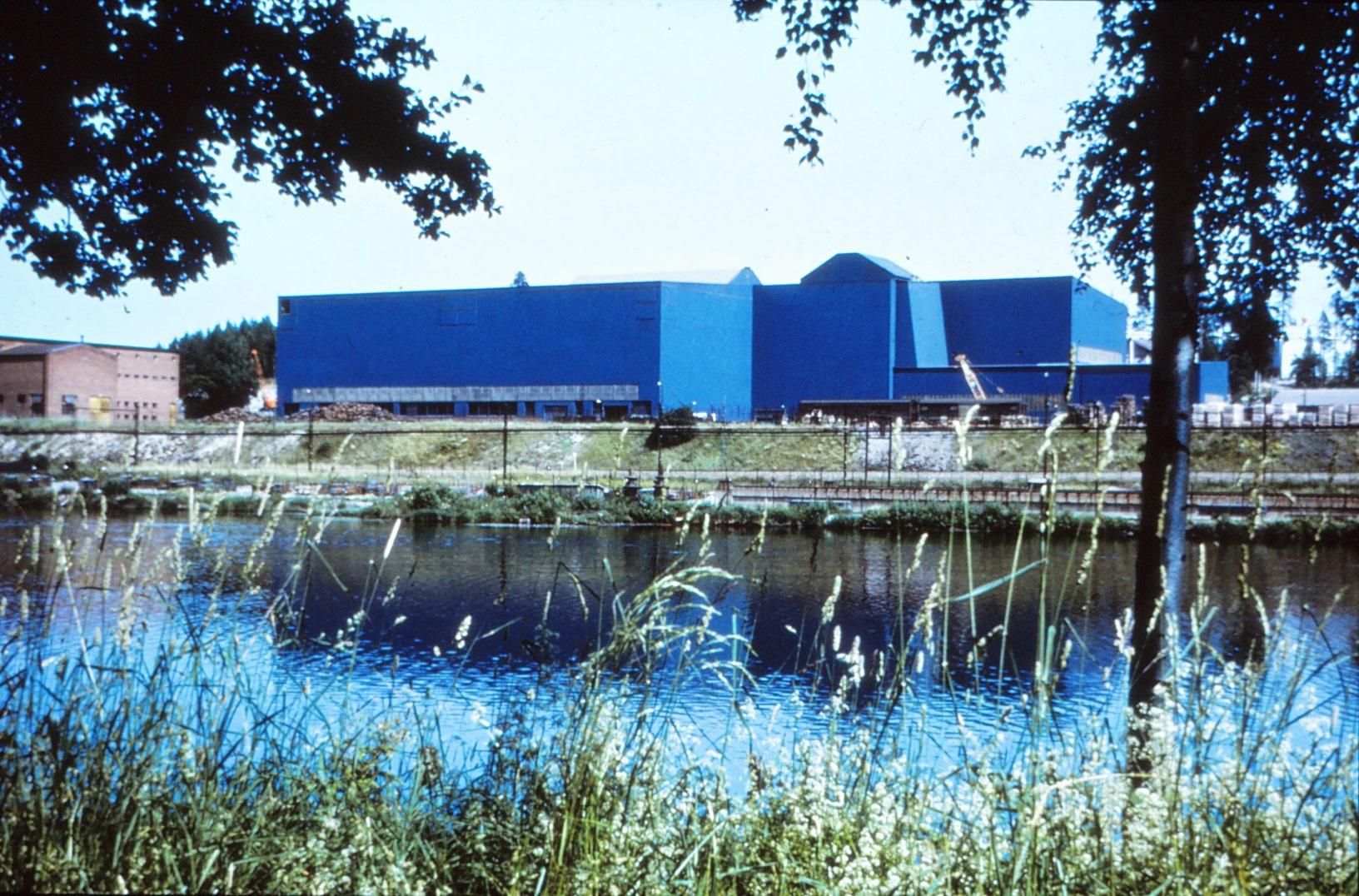 Stålverk 2 från Andra sidan, foto Åke Fridfeldt