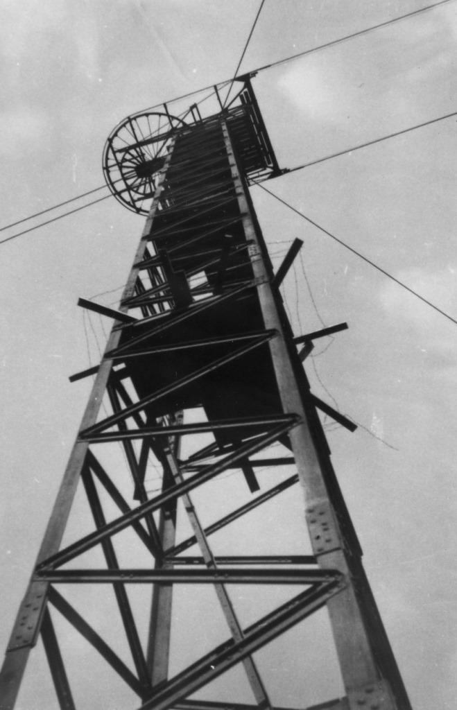 Linbanans sluttorn med vändskivan, foto Klas Gutke