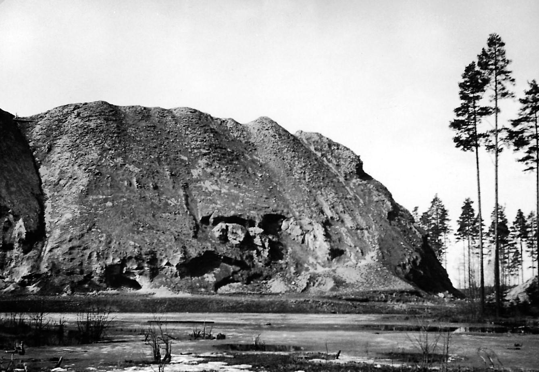 Slaggtippen, foto från Fagerliden.