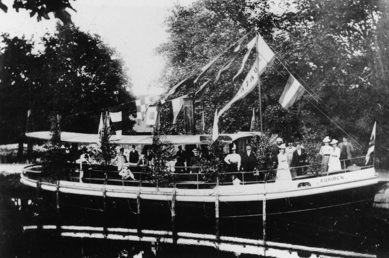 Kuriren på brukspatron Aspelins 70-års dag